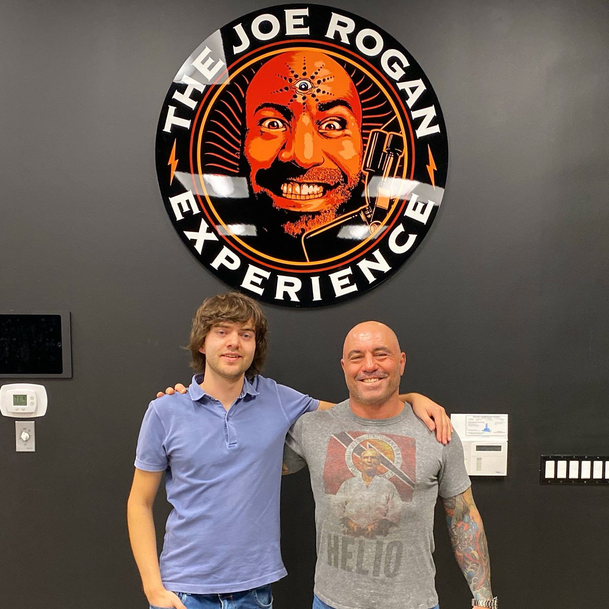 Had lots of fun with @joerogan, discussing The Ocean Cleanup, technology, and the future youtu.be/whRVyywTov4