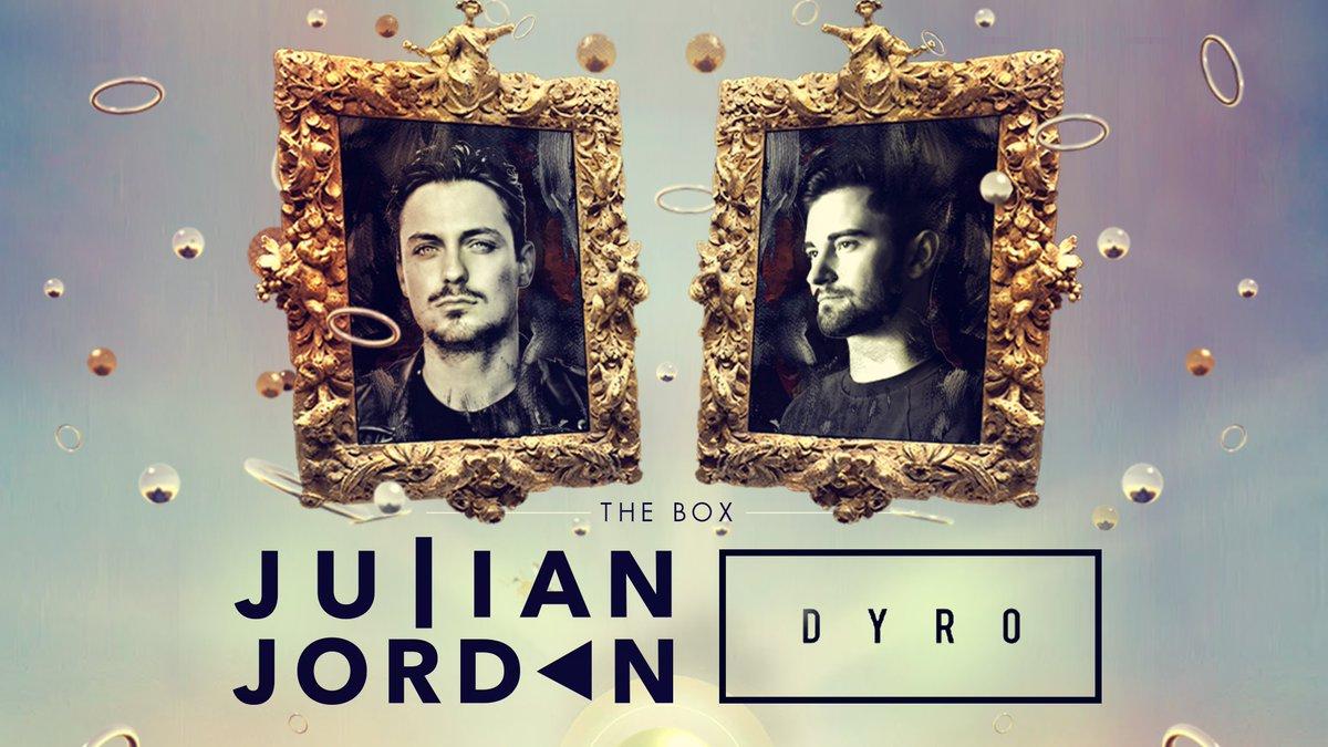 Both @JulianJordan & @Dyro at @Ministry_Club on Friday January 10th.