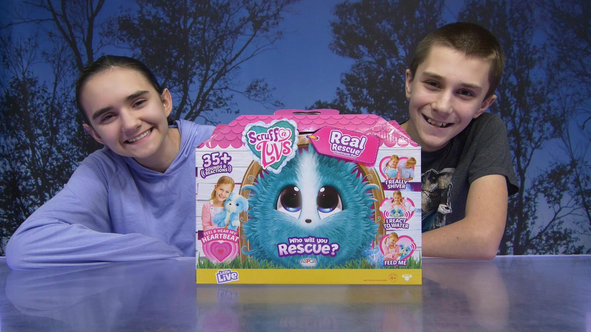 We unboxed Scruff-A-Luvs Real Rescue! Thanks @Moose_Toys for this #freeproduct!    #realrescue #scruffaluvs #moosetoys #influencer #youtubefamily #videocreator #4k #contentcreator #gifted #unboxing #review #holidaygiftguide #giftideas #toys #youtubekids