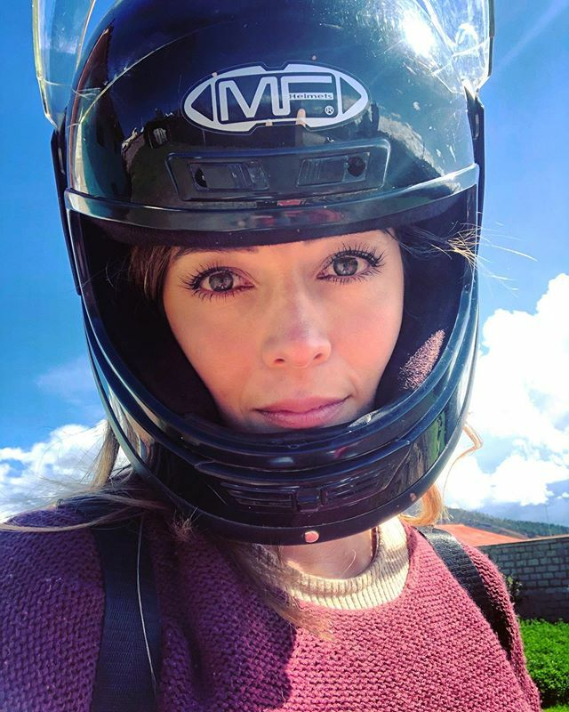 Life is about moments.  CREATE THEM. Don't wait for them. . . . #adventure #eyes  #moto #ride #helmet #travel #girlrider https://ift.tt/2S24BV2pic.twitter.com/s7GwvE9qvb