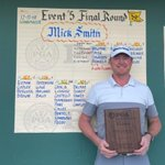 Image for the Tweet beginning: Congratulations to Mick Smith of