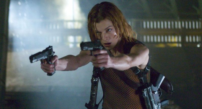 Happy Birthday to the beautiful queen of action horror Milla Jovovich