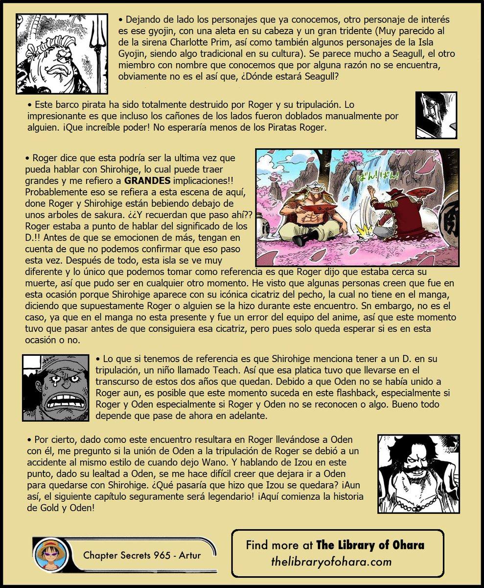 Secretos & Curiosidades - One Piece Manga 965 EMC48elXkAACTVQ