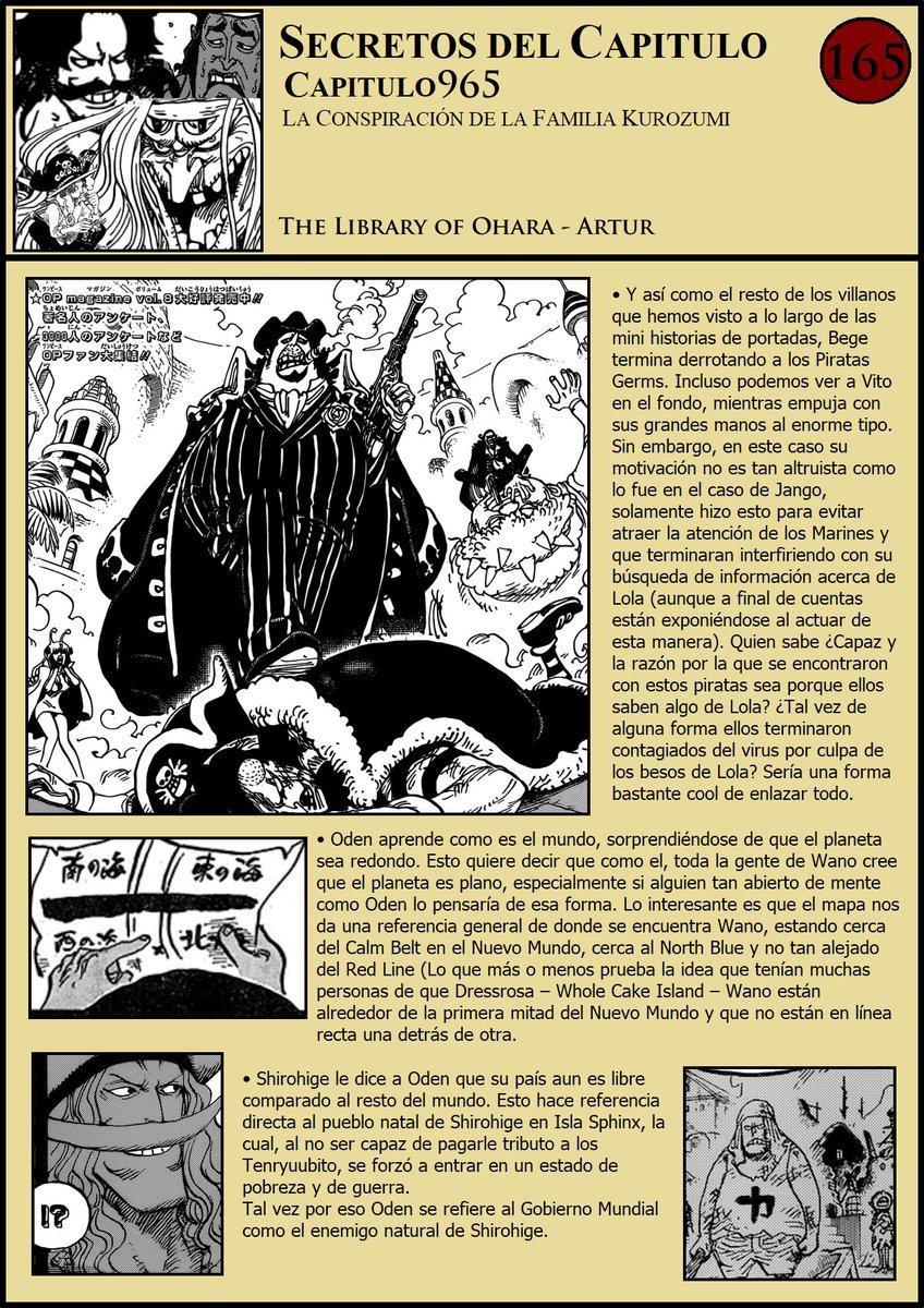 Secretos & Curiosidades - One Piece Manga 965 EMC4nBqXkAArwrB