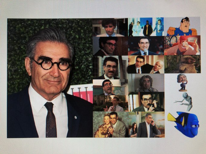 Happy 73rd Birthday to actor, comedian, producer, director, and writer, Eugene Levy!