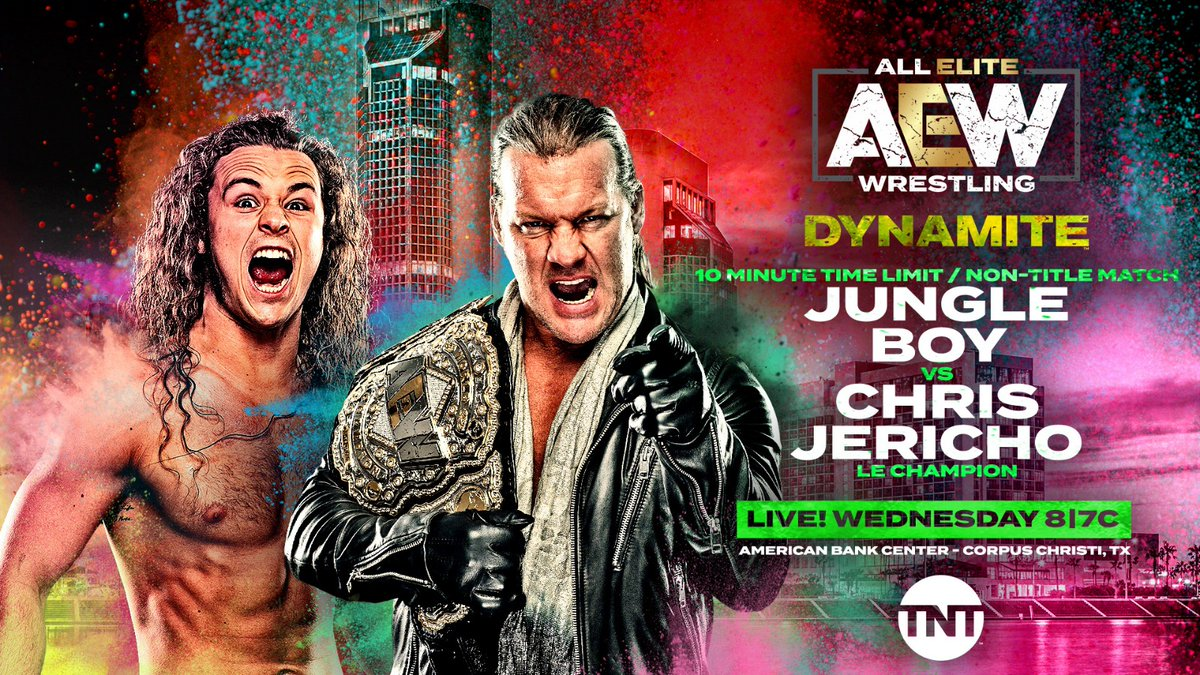 AEW Dynamite Results: SCU Defends Titles Against The Young Bucks, Jungle Boy Vs. Chris Jericho