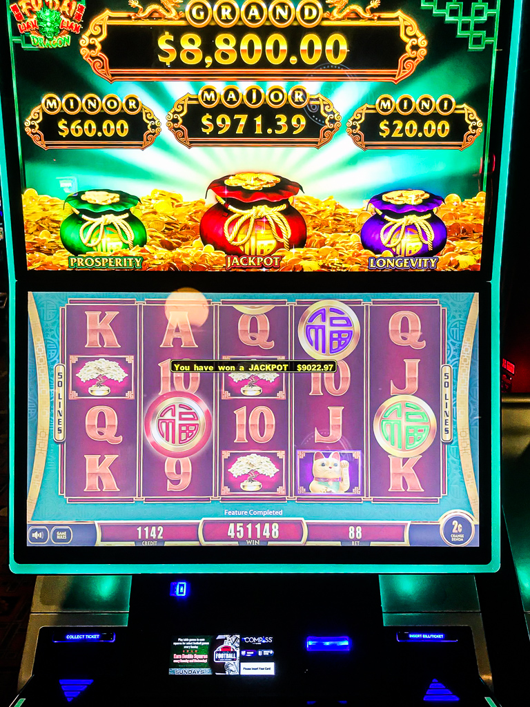 Cannery Casino On Twitter Our Lucky Winner Hit The Fu Dai Lian