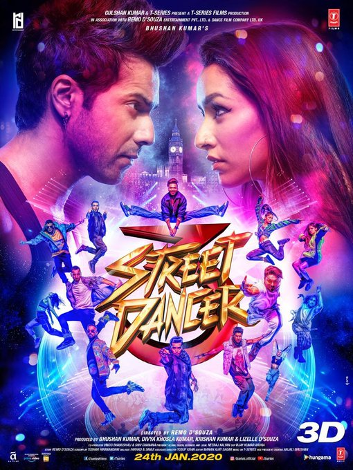 The fire that burns to live a dream, is the fire they bring on stage!! 🔥🔥Watch the #StreetDancer3D trailer