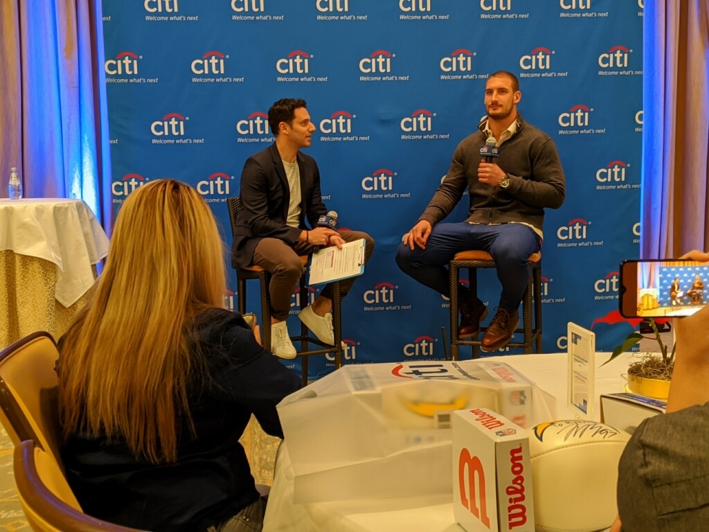 Had a Great time at my first-ever @CitiBank @Pro_Talks! Can't wait to do it again! #CloserToPro