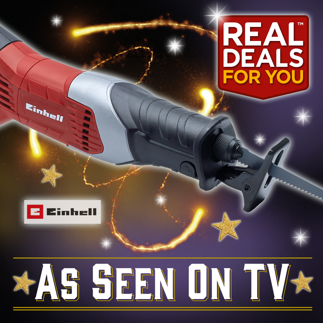Real Deals For You On Twitter The Einhelluk 650w Reciprocating Saw With Electronic Speed Control And A Tool Less Blade Change This Compact And Versatile Saw Operates With The Upmost Efficiency To