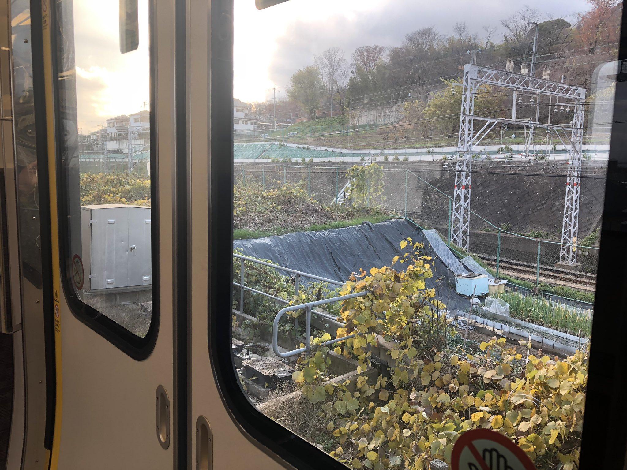 京都線の山崎駅~長岡京駅間で人身事故が起きた画像