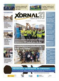 Publicamos número 140 de Xornal21 #Galicia #PontevedraProvincia #Mos #OPorriño #Salceda #Mondariz #MondarizBalneario #AsNeves #Salvaterra #Ponteareas #AGuarda #ORosal #Oia #Tomiño #Tui #Nigrán #Gondomar #Baiona #Redondela #Vigo vía @Xornal21