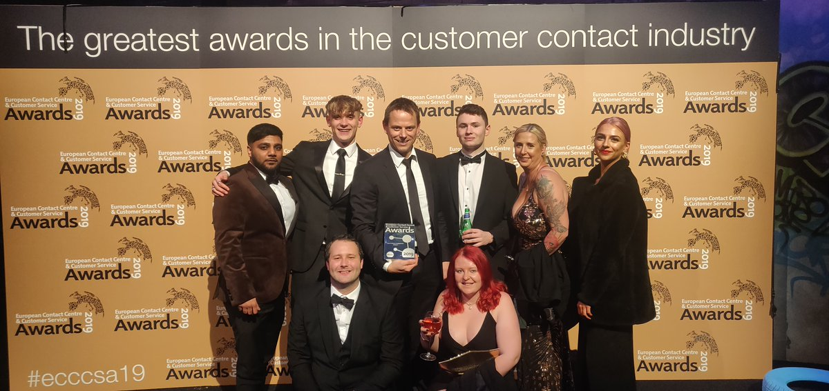 """""""And the winner of the Best Customer Engagement Initiative is … 1&1 IONOS !"""" @ecccsa_awards has given our #PersonalConsultant service a Gold #Award and we couldn't be prouder. Thank you! #ECCCSA19 https://t.co/ZtSq6uBRqK https://t.co/Cccs1zhOi9"""