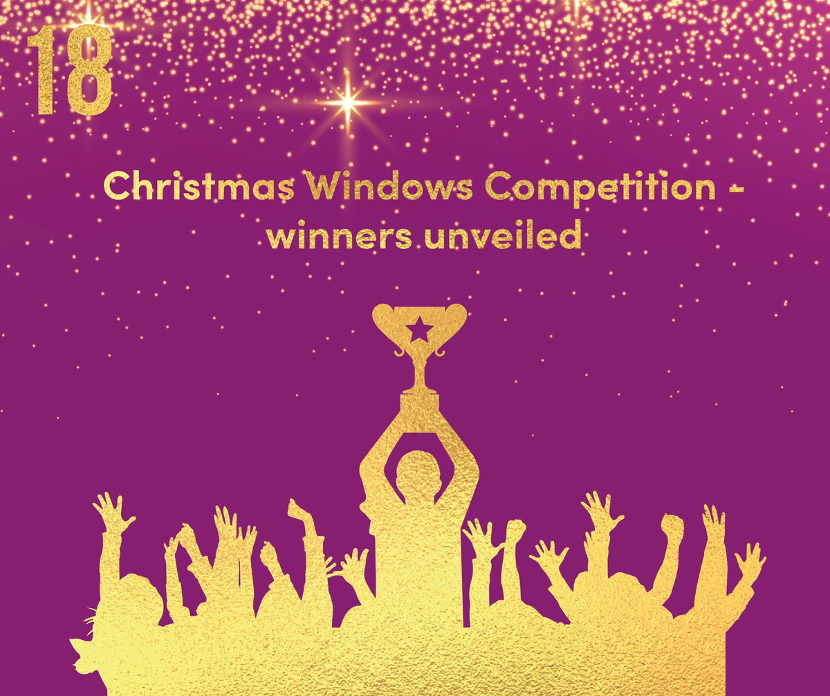 Day 18 of our #Northampton BID advent calendar and weve revealed the winner of the Christmas Windows Competition! Massive congratulations to our overall winner @GuruGiles - head over to Facebook for the full list of winners: bit.ly/2S3V9Ax #CelebrateNorthampton
