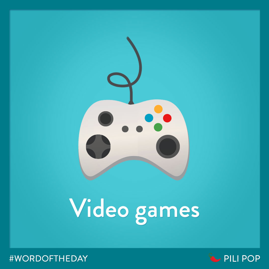 #WordOfTheWeek 🌶  What is your favorite video game ? 🎮 https://t.co/DdrYrBHrid