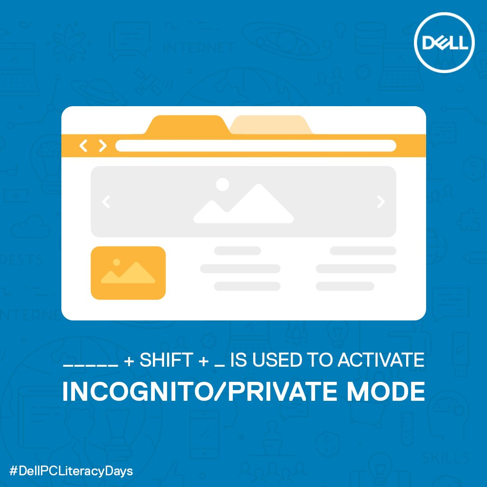 (1/5) Answer all the questions and win big with #DellPCLiteracyDays!  #DellIndia #ContestAlert