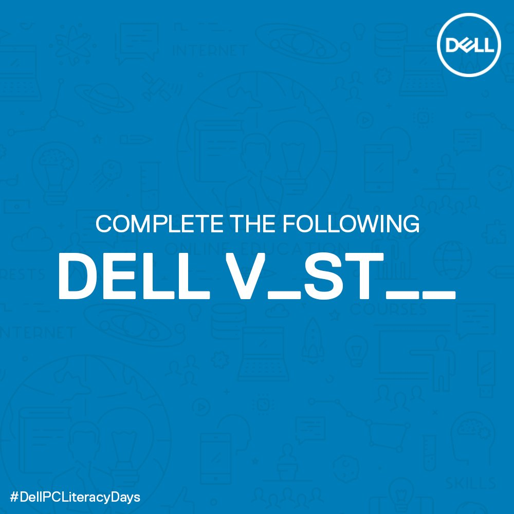 (3/5) Answer all the questions and win big with #DellPCLiteracyDays!  #DellIndia #ContestAlert