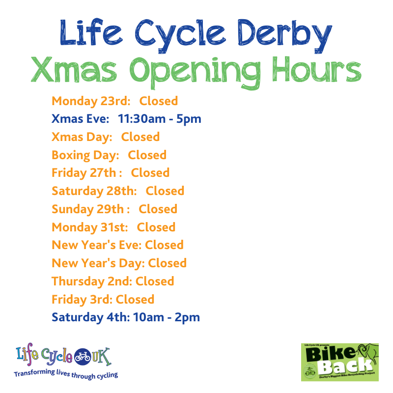 LifeCycleDerby (@LifeCycleDerby) on Twitter photo 18/12/2019 13:28:22
