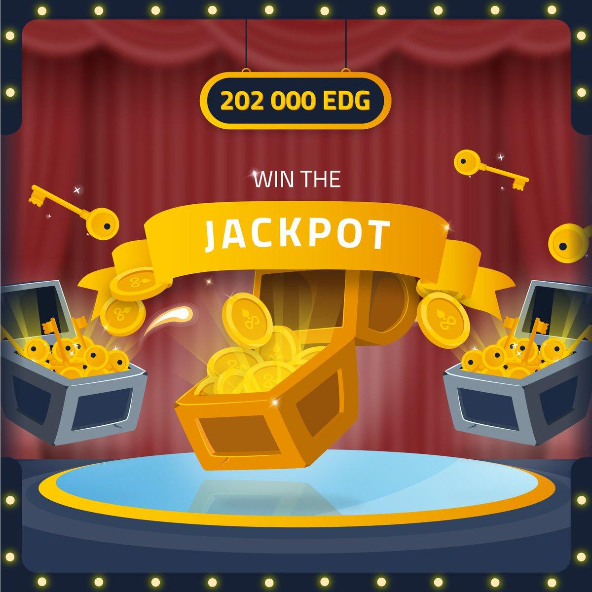 WIN 202 000 EDG. Enter now ➡️ https://t.co/n3MGWSoYZs #Edgeless #money #blockchain #win #crypto https://t.co/Kx3Ag57Sjx