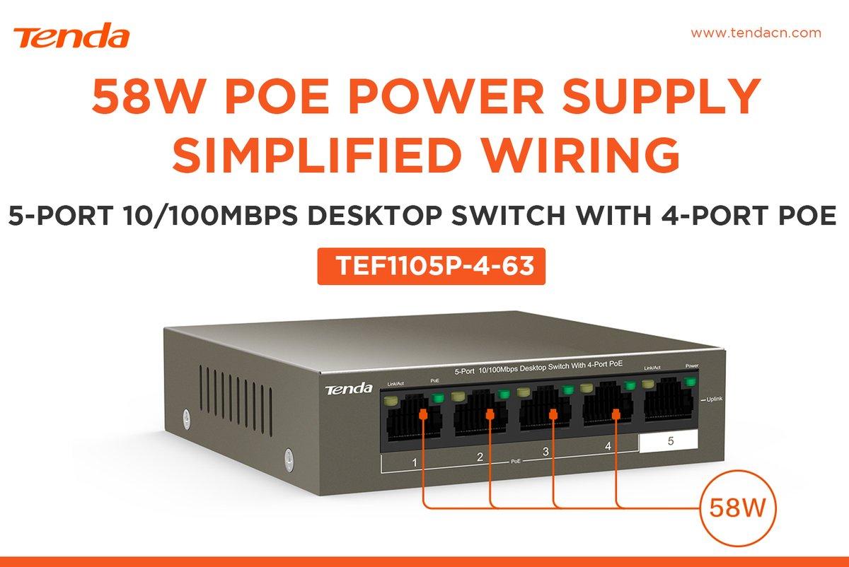 Switch Ethernet Injecteur PoE