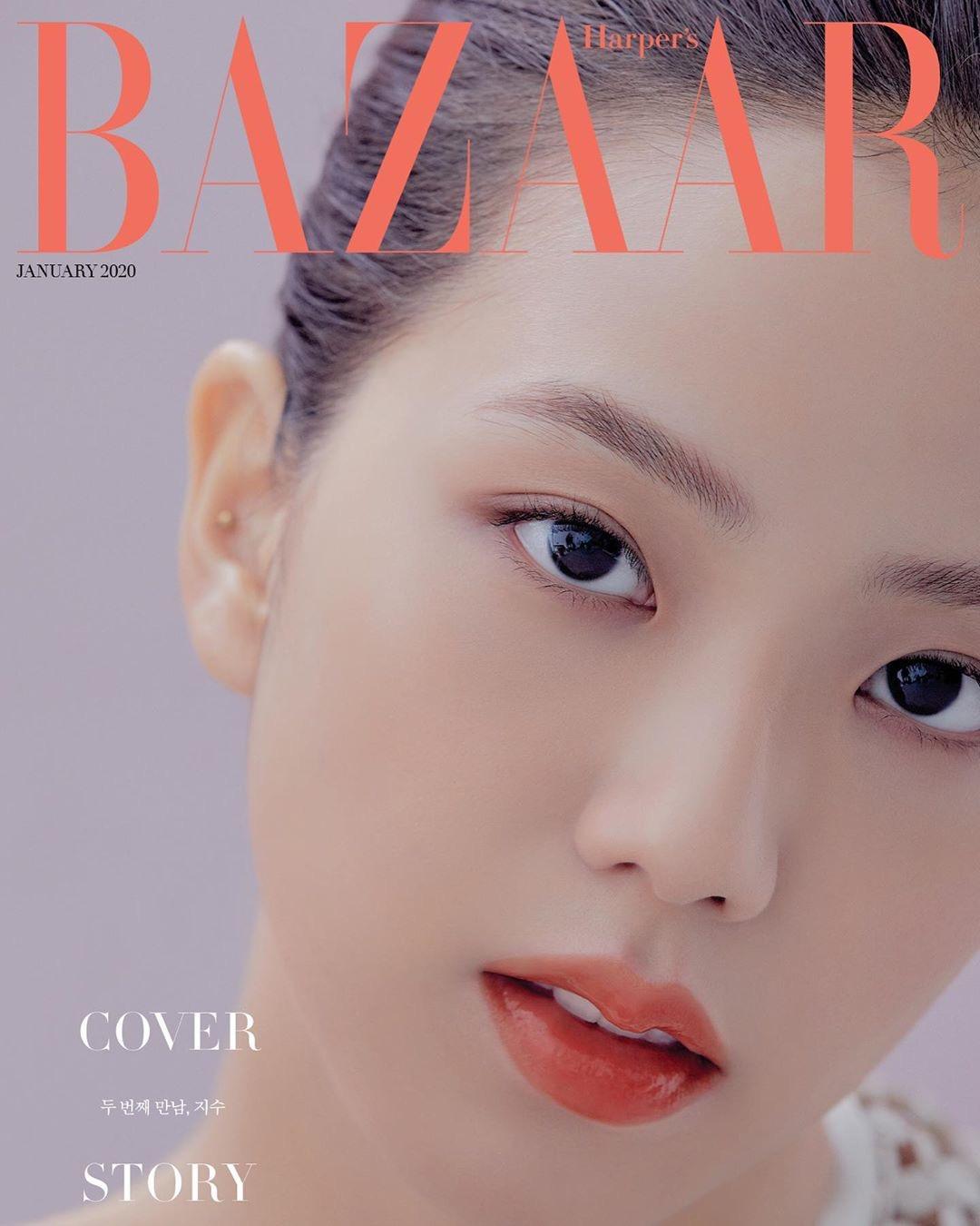 Photoshoot Blackpink Jisoo For Harper S Bazaar January 2020