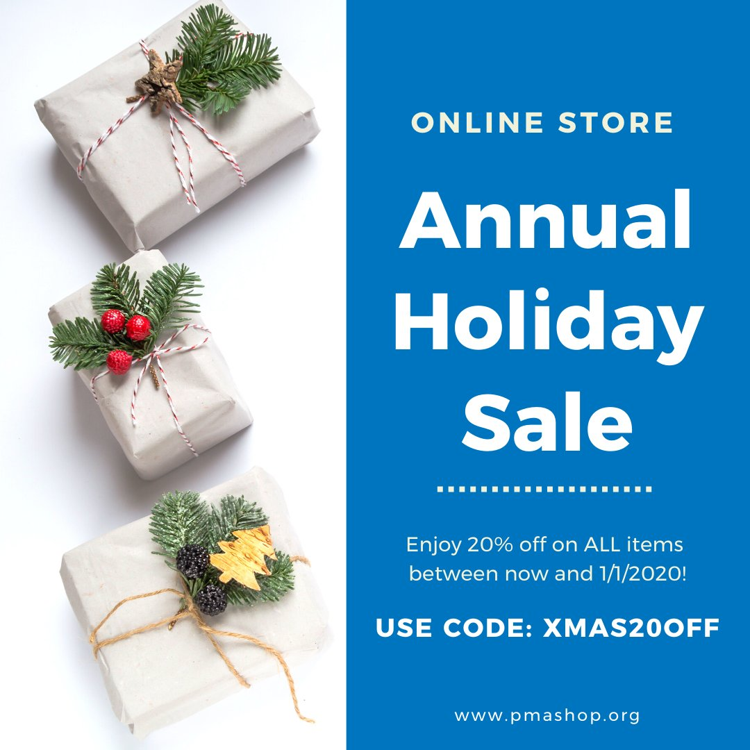 #PMAOnlineStore Annual Holiday Sale has begun! Shop here: http://www.pmashop.org    #pilatesmethodalliance pic.twitter.com/Llrt05oA82