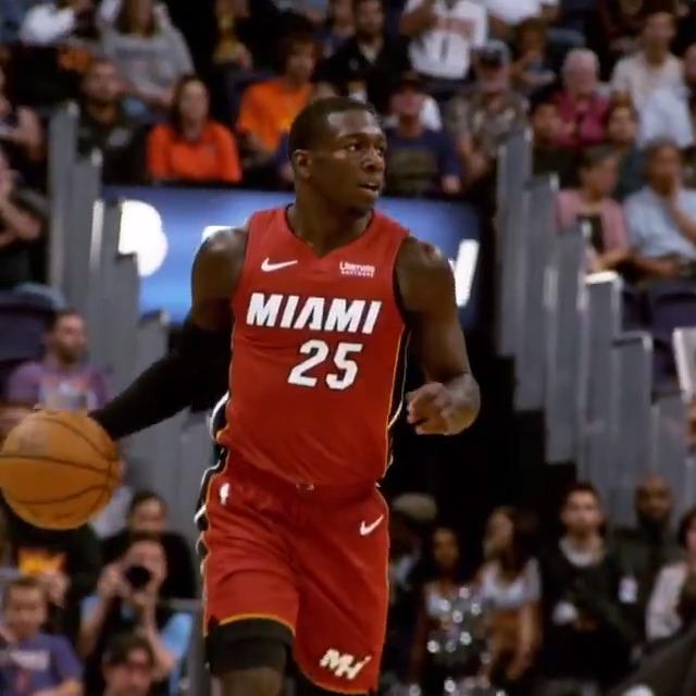 🔥 NUNN x HERRO 🔥   @nunnbetter_ (16.1ppg) and @raf_tyler (14.2ppg) have helped the @MiamiHEAT to a 19-8 record to begin the season! #NBARooks  🆚: MIA / PHI  ⏰: 7pm/et  📺: ESPN