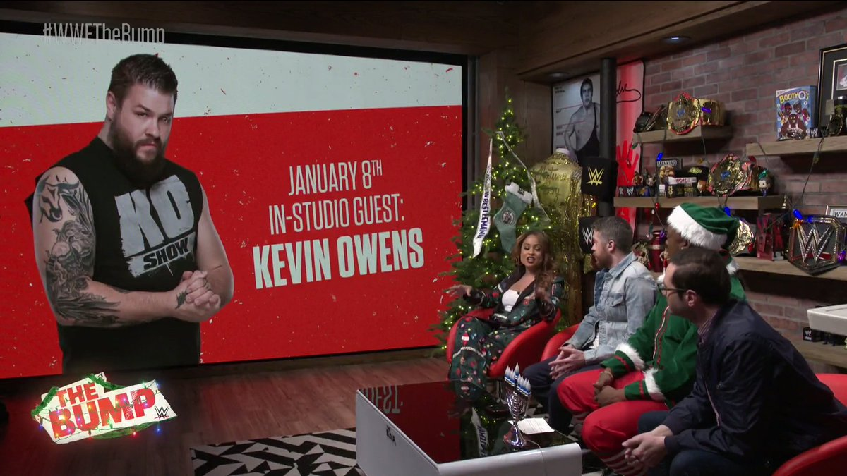 Kevin Owens To Appear On First Episode Of WWE's The Bump Of 2020