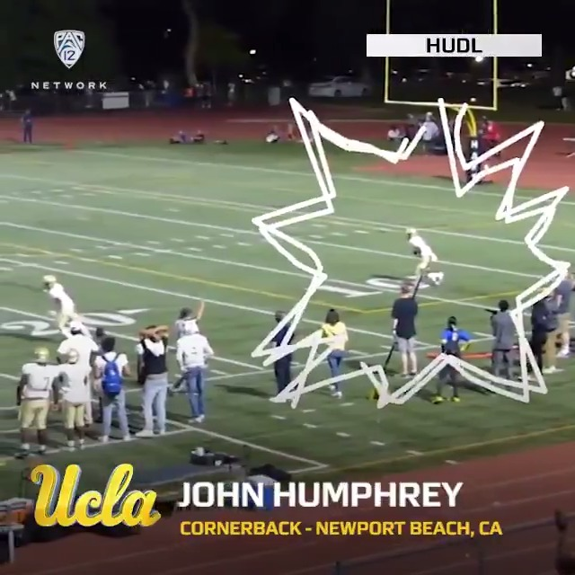 Staying close to home. The Pasadena-bred @johnhumphrey023 is officially a Bruin. @UCLAFootball | #Pac12FB