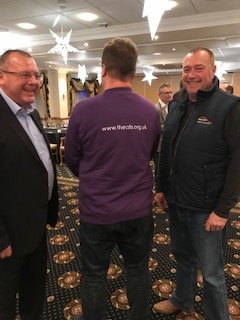 Would love to know what they were saying behind our CEO's back...LOL  Merry Christmas all and a huge thank you to @kaz_macklin @RacingEvents @PendleLease .  Still, it is his best view...  #learningtodrive #kent