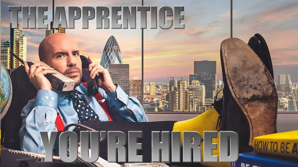 Youve seen the main event - now its time for the after party! Join @TomAllenComedy, @Lord_Sugar, @Karren_Brady and @ClaudeLittner for one last look over #TheApprentice on @BBCOne, right now! Its time for #YoureHired!