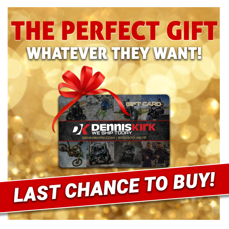 If you're sending a gift card 💳 by mail to the powersports enthusiast in your life, make sure to purchase it by 1pm TODAY to receive it by Christmas! 🔗https://t.co/XwLq0AtFL8  #ridemorewaitless🚚📦🏍️ #weshiptoday #denniskirk https://t.co/0hh8THv2c8