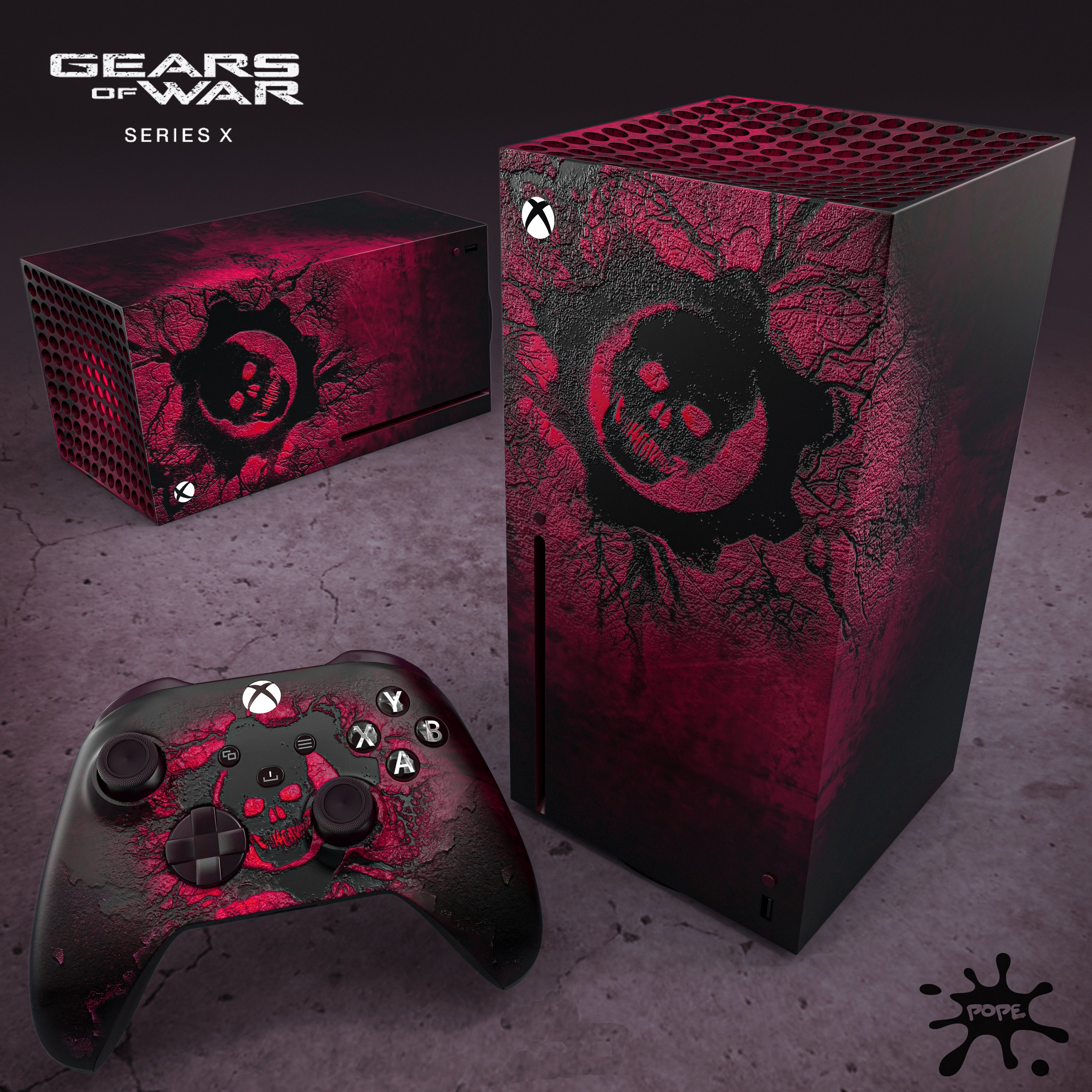 Custom Gears Xbox Series Made By Designer Xboxpope Gearsofwar
