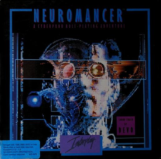 Neuromancer (Electronic Arts / Interplay, 1989) #Amiga500 #Commodore #16bit #Cyberpunk #SciFi #Pointandclickadventure #dystopia #WilliamGibson @DarkBlueMonkey @AdventurersCap @AmigaRetweets @CommodoreBlogpic.twitter.com/CQRbswzKOq