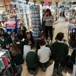 Image for the Tweet beginning: Year 6 visit to Waterstones.