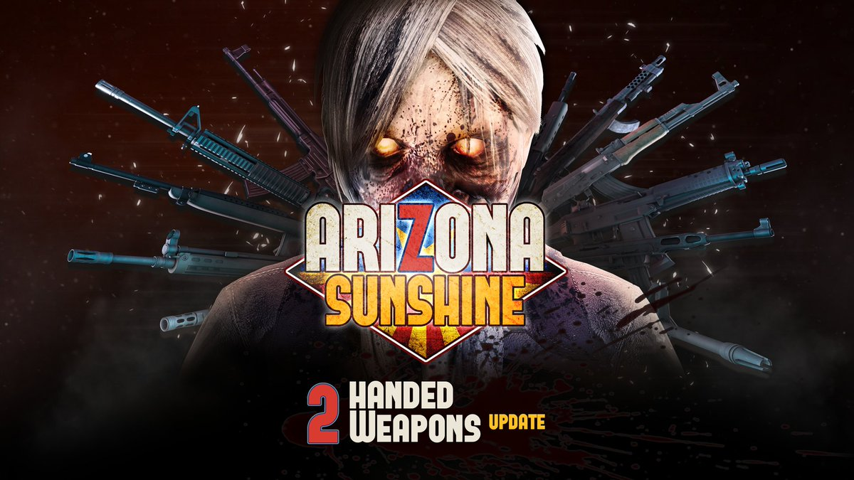 Today the first of a range of post-launch updates is coming to Arizona Sunshine on Oculus Quest: The Two-Handed Weapons Update is now live!