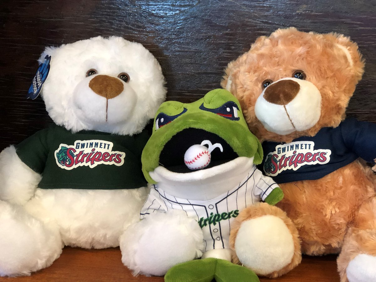 "Bear Stripers gwinnett stripers on twitter: ""gang's all here 🧸… """