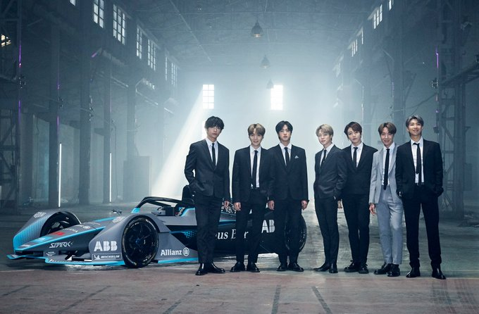 BTS Menjadi Global Brand Ambassador Terbaru Formula E