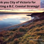 Image for the Tweet beginning: Thank you @CityofVictoria for supporting