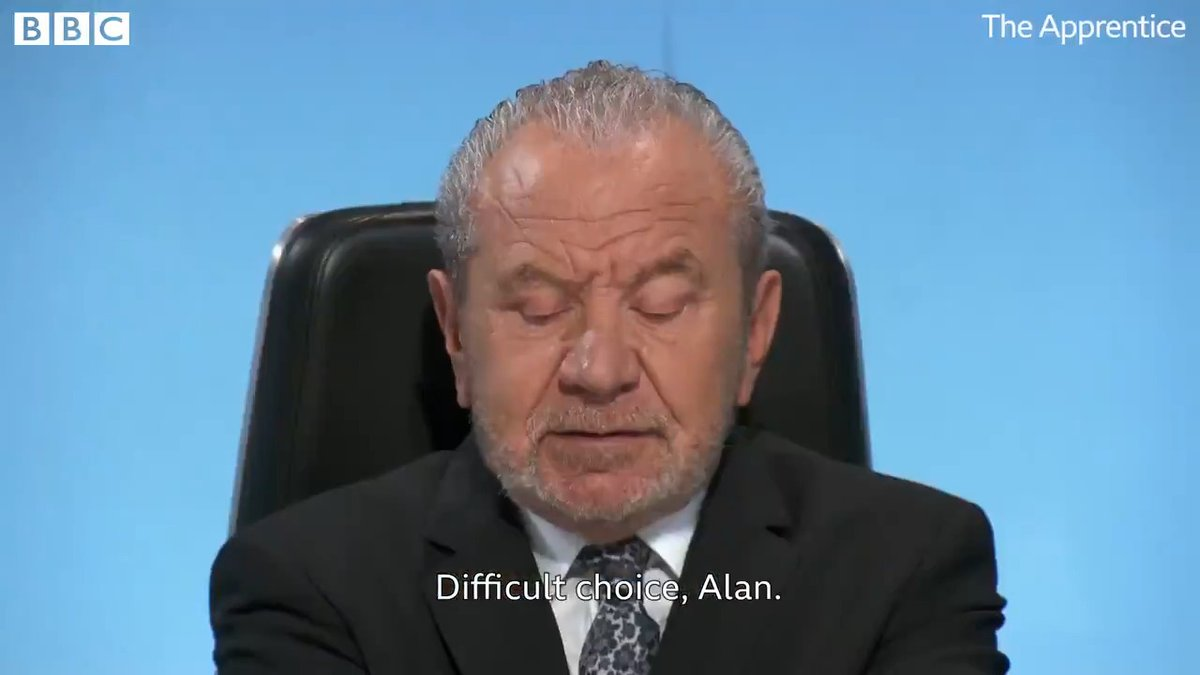 The moment of truth has arrived 🙌 #TheApprentice