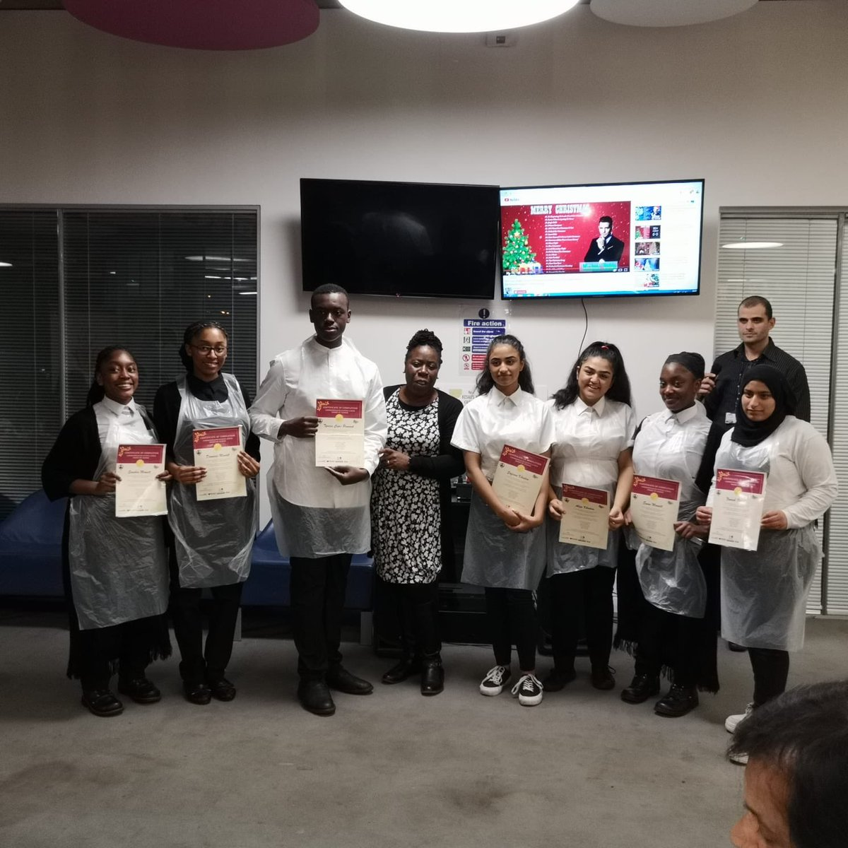 Attended a fantastic project called This is my City. I attended a session looking at dishes of the Commonwealth. I was blown away at the dishes created by young people.@healthybrum @mickattheherald @DrJV75 @khalid4PB