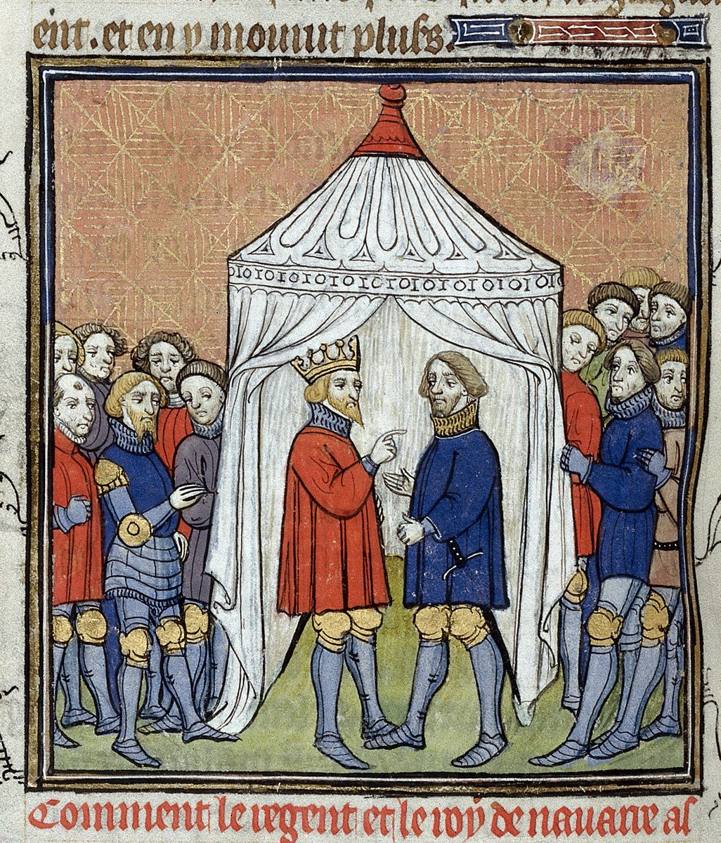"""Oh sorry, I thought you said, Now is the winter of our discount tent.""  #LinesThatShakespeareNearlyWrote  Royal MS 20 C VII, f. 135v"