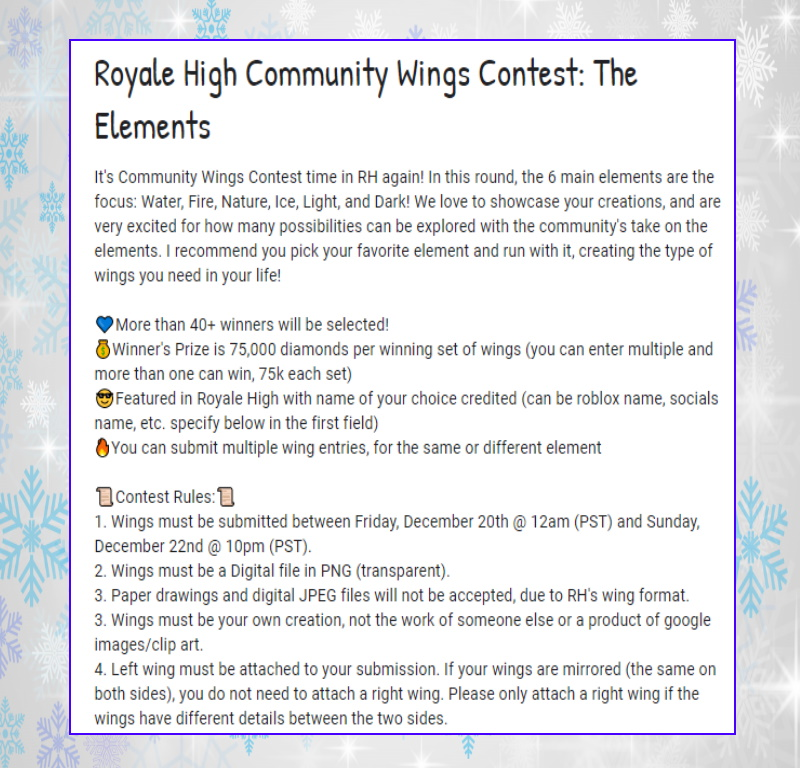Kateka22 On Twitter Another Royale High Contest Is Coming Your