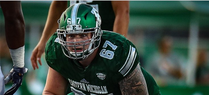The Oakland Panthers have signed OL Jeremy Hickey. Hickey made 24 starts in 4 years at Eastern Michigan.