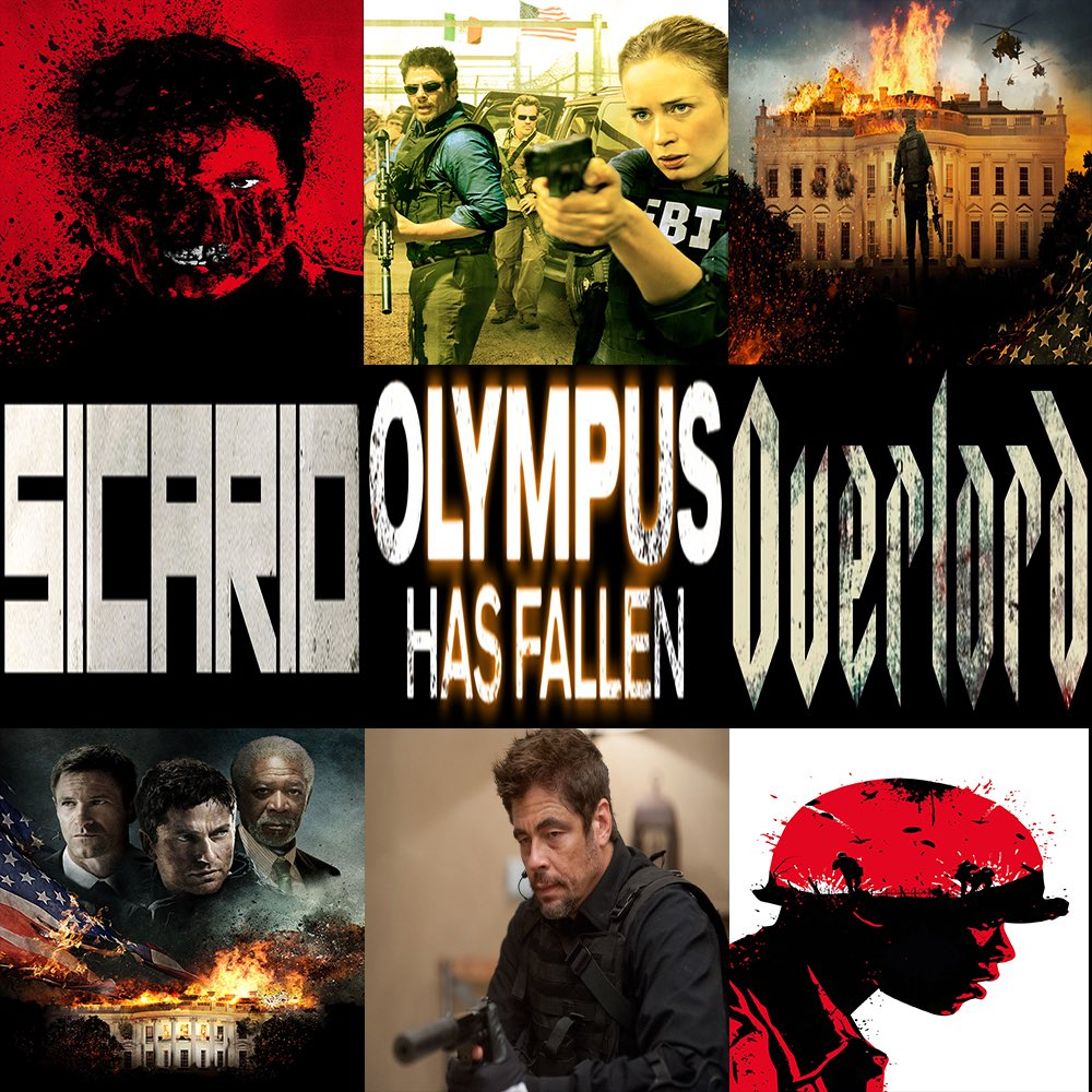 This Week in Film, join Nick & Midwest Matt as they discuss #Overlord, #Sicario, & #OlympusHasFallen.  Click here to listen! —> http://thisweekinfilm.libsyn.com/week-141-overlord-2018-sicario-2015-olympus-has-fallen-2013…  #podcast, #podcasting, #podernfamily, #podcasts, #filmpod, #film, #movies, #thisweek, #moviepodcast, #movie,pic.twitter.com/ecnZQRSPnw