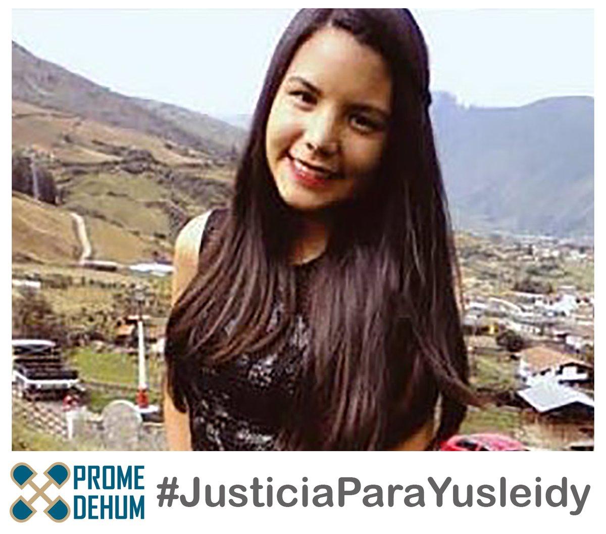 """PROMEDEHUM Twitter પર: """"Abogadas querellantes en el caso Yusleidy Salcedo  solicitaron al presidente del TSJ que los 8 implicados en la violación y  feminicidio de Yusleidy sean trasladados a un internado judicial"""