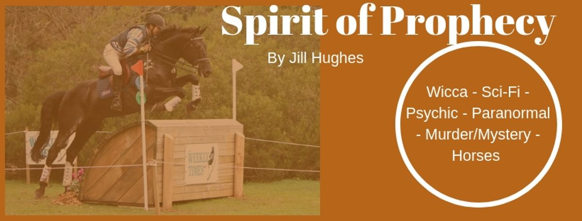 """An award-winning bestseller  A """"whodunnit"""" like you've never seen  With a paranormal/extraterrestrial twist   SPIRIT OF PROPHECY By Jill Hughes  She reckons you'll love it!   http:// getbook.at/SpiritofP      @BooksbyJJHughes  #Paranormal #CoPromos #Horses<br>http://pic.twitter.com/LoCVRzlZfL"""