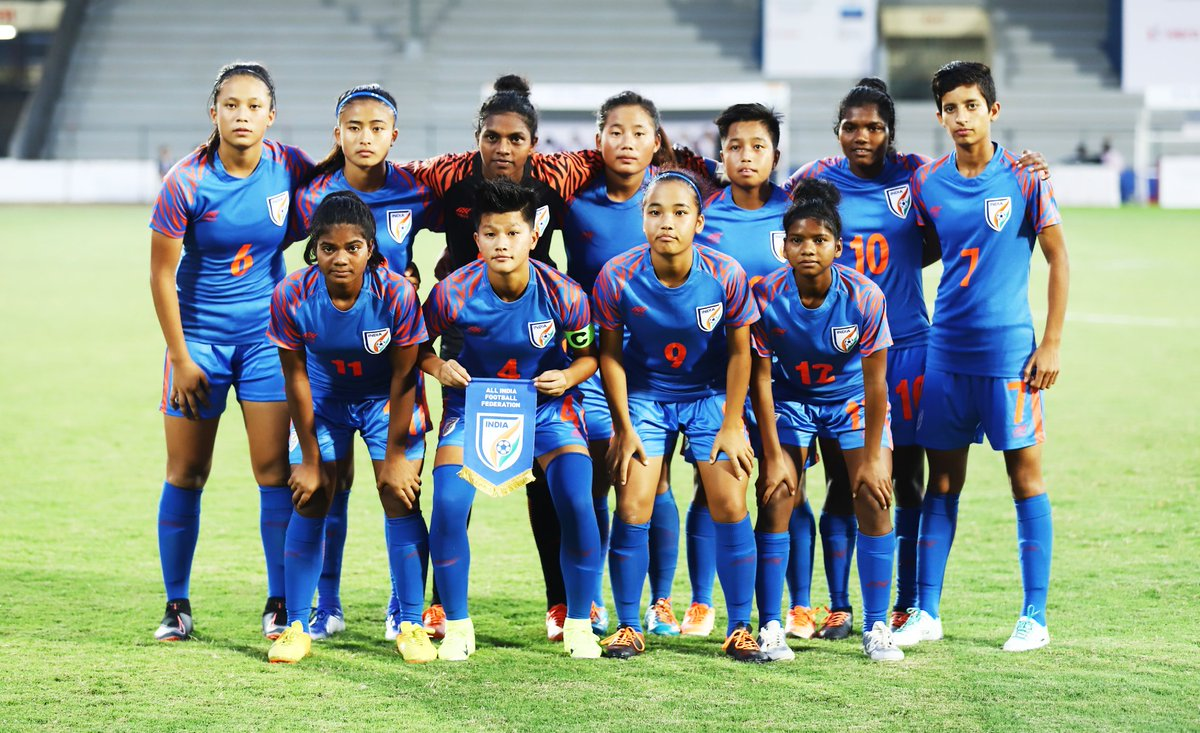 Girls, congratulations on your win against Thailand and wish you continue your winning run against Sweden today. All the best for the final to you. Mumbai, lets back our girls and win it together. #BackTheBlue #ShePower #IndianFootball