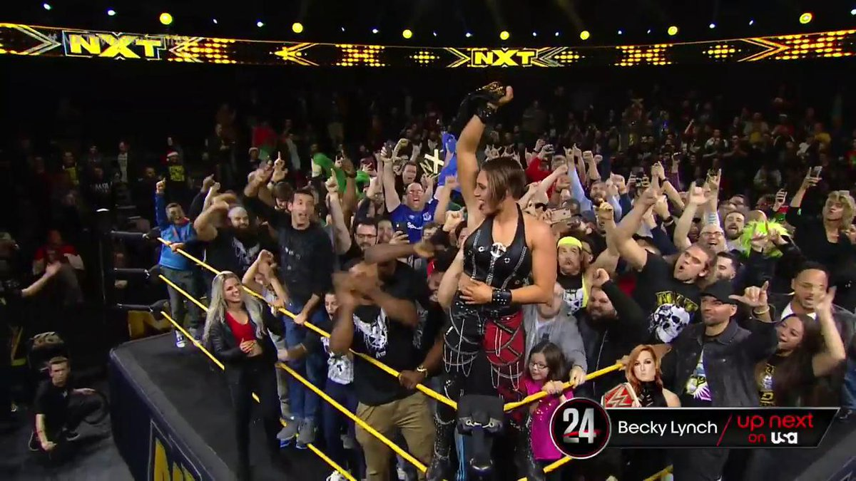 Rhea Ripley Defeats Shayna Baszler To Win The WWE NXT Women's Title (Photos, Videos)