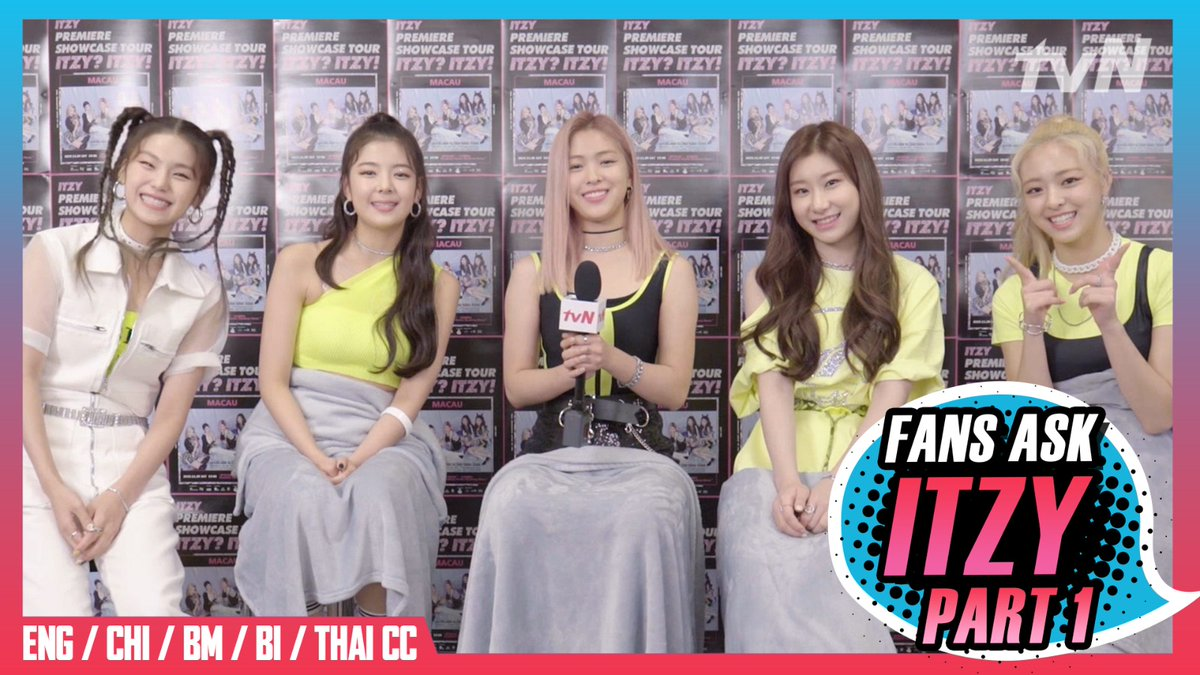 "ITZY? ITZY! ""Monster Rookie"" ITZY's exclusive interview is now on tvN Asia & tvN D Indonesia! The girls' first impressions of each other and secret TMIs are all revealed for MIDZYs! Part 1: youtu.be/2OoRD85xFVI Part 2: youtu.be/eA6GHcp5K_g #ITZY #있지 @ITZYofficial"